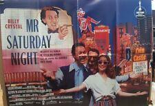 Billy Crystal  MR SATURDAY NIGHT(1992) Original UK quad movie poster