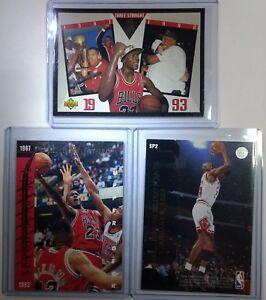 Michael-Jordan-lot-of-3-Upper-Deck-93-SP2-20K-Points-SP3-Wilt-SP4-3-Straight