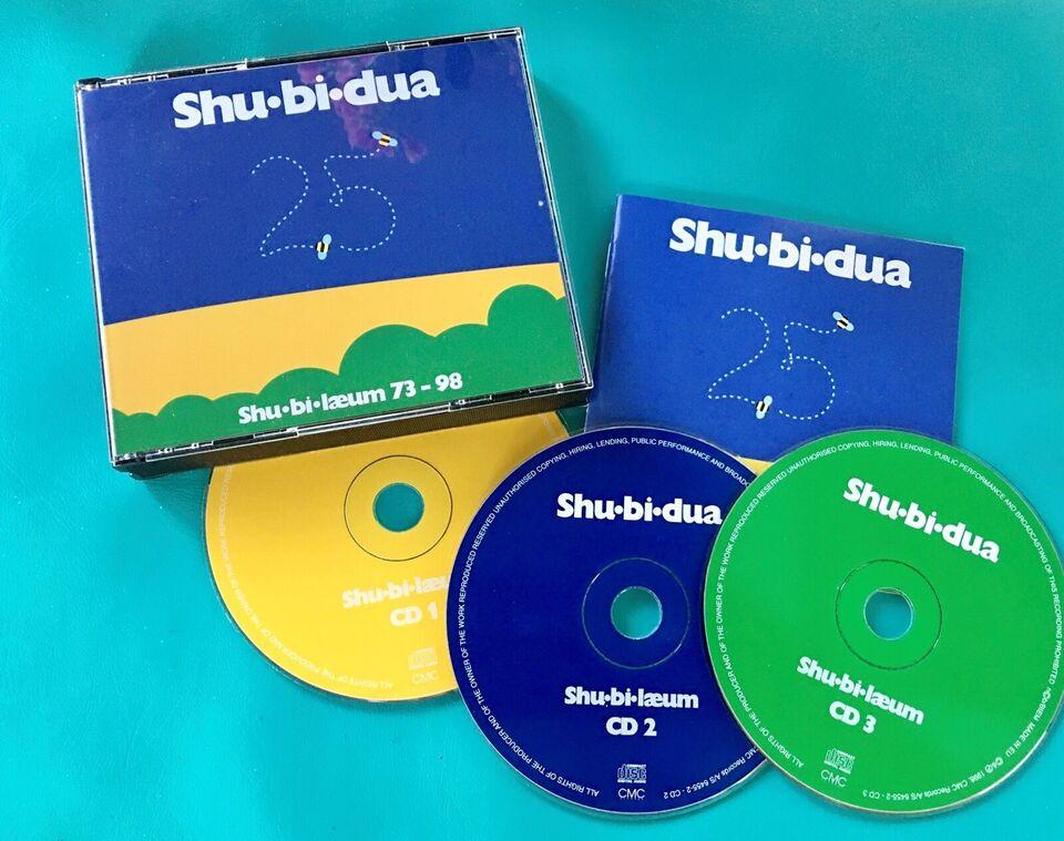 Shu-bi-dua 25 (3CD): Shu-bi-læum 73-98, pop
