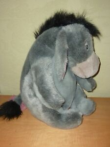 "14"" Walt Disney World EEYORE Plush Stuffed Animal Has Detachable Tail Pooh"