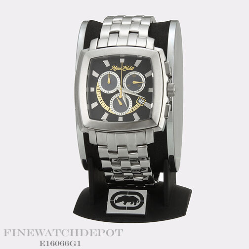 Authentic Marc Ecko Men's Stainless Steel Chronograph Watch E16066G1
