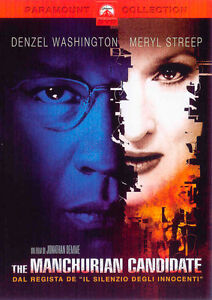 DVD-The-Manchurian-Candidate-DENZEL-WASHINGTON-MERYL-STREEP-ITALIANO