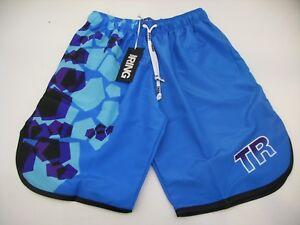 più economico 52547 6667a Dettagli su Top Ring Pantaloncino Beach Tennis RP6 Basket Azzurro Nero