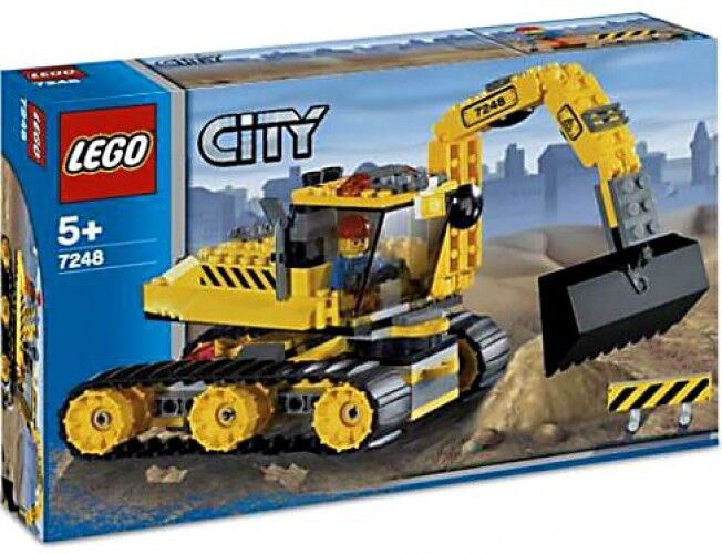 Lego City Set  7248 Digger