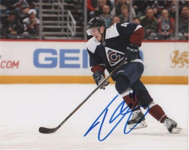 Colorado Avalanche Tyson Barrie Signed Autographed 8x10 NHL Photo COA #3