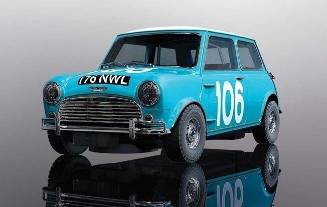 Scalextric 1 32 Mini Cooper 1962 Targa Florio HD  | Maßstab ist der Grundstein, Qualität ist Säulenbalken, Preis ist Leiter