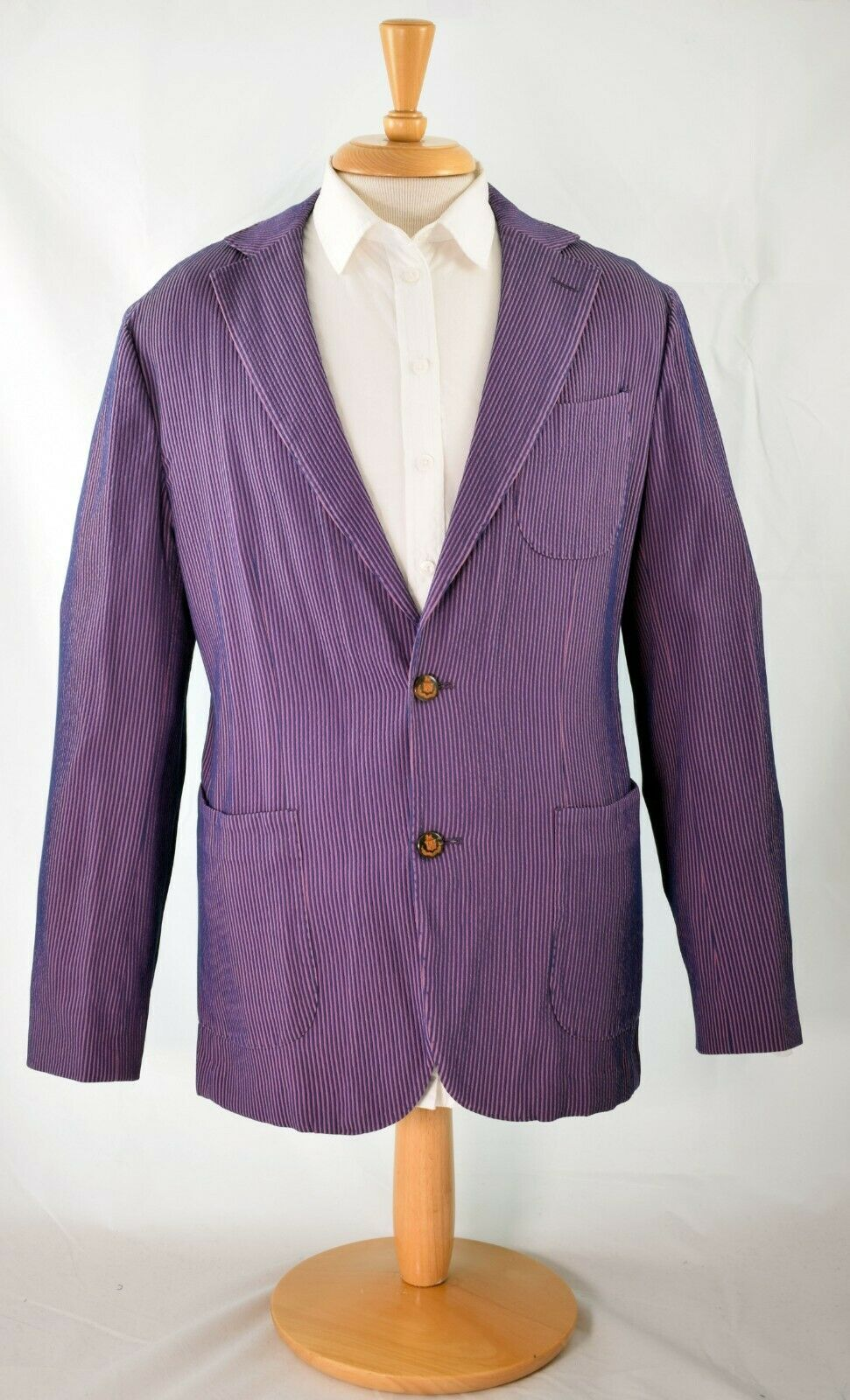 Amazing Robert Talbott Rhus Tailored Fit Soft Coat Extra Large NWT