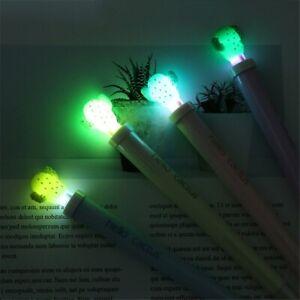 New-Cactus-Design-Gel-Pen-0-5mm-Cartoon-Black-Ink-Light-Pen-Kawaii-Kids-Supply