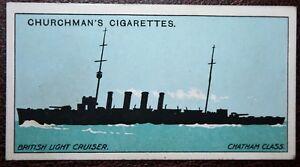 Royal Navy  Chatham Class Light Cruiser Silhouette  Original 1915 Card - Melbourne, Derbyshire, United Kingdom - Royal Navy  Chatham Class Light Cruiser Silhouette  Original 1915 Card - Melbourne, Derbyshire, United Kingdom
