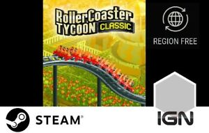 Rollercoaster-Tycoon-Classic-PC-Steam-Download-Key-schnelle-Lieferung