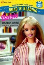 Barbie.Com the First Adventure-ExLibrary