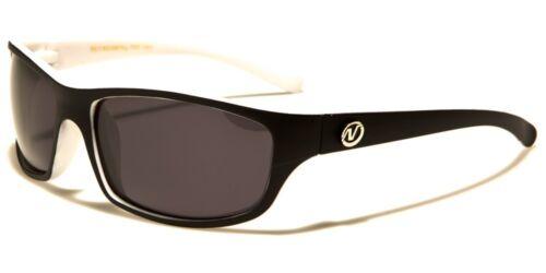 Slim Wrap Around Frame Two Tone Matte Finish Nitrogen Polarized Sunglasses