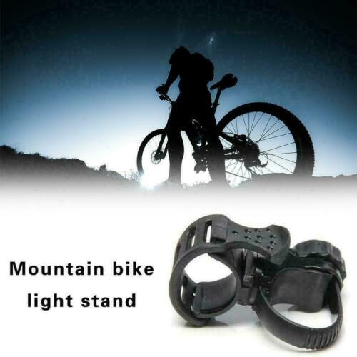 Bicycle Light Lamp Holder 360Degree Rotation Torch Bracket Portable Mount G6Y0