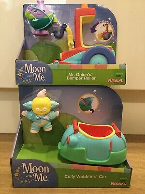 Hasbro Moon and Me Friends /& vehicles select Colly Wobble /& Car or Mr Onion