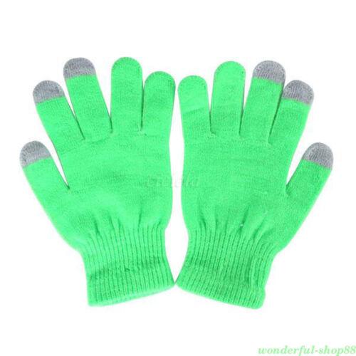 Full Finger Winter Mittens Cotton Touch Screen Gloves For Smart Phone Tablet