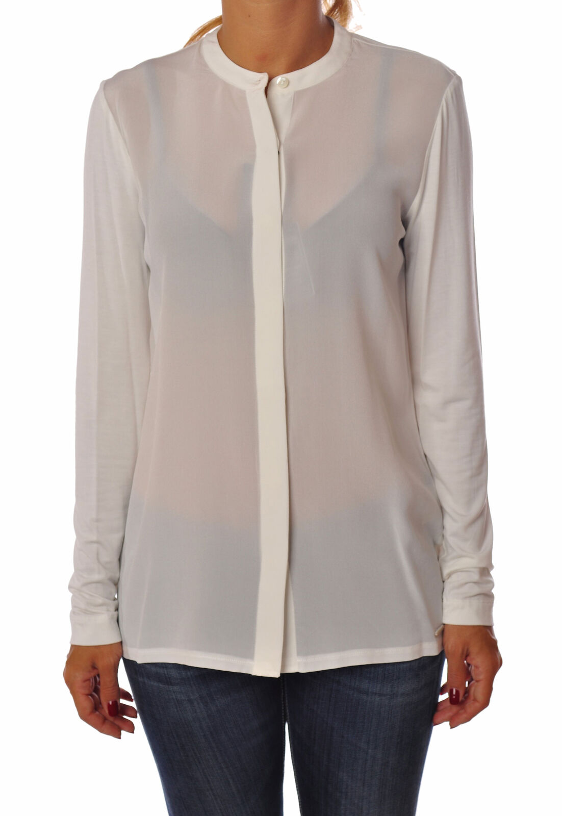 Woolrich  -  Shirt - Female - Beige - 2526226N174140