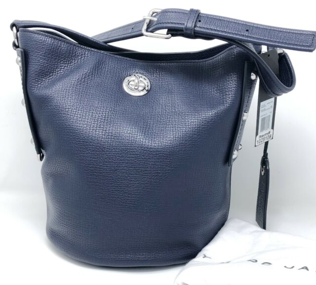 b99286090f3 Marc Jacobs India Ink Leather C Lock Bucket Bag for sale online | eBay