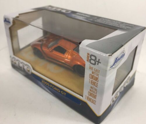 Ford GT 2005 Sclae 1:64 Jada Lopro Gold 14701