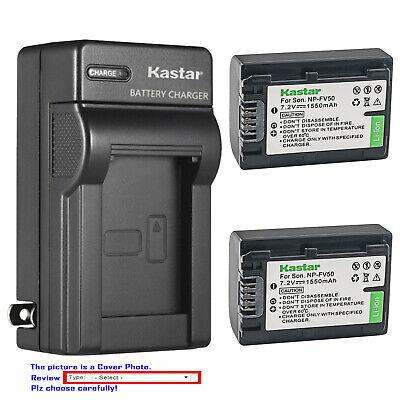 Sony DCR-SX33 DCR-SR21 Power Supply Charger Sony NP-FV70 NP-FV50 NP-FV100
