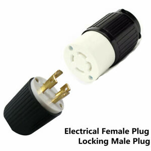 Details about 30A 125/250V L14-30 Twist Lock 4-Wire Electrical Plug on 50a plug wiring, a 4 prong plug wiring, 13a plug wiring, 15a plug wiring, nema l14-30p plug wiring, 30 amp generator plug wiring, dryer plug wiring, 20a plug wiring, 10a plug wiring,