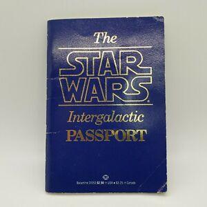 Vintage-1st-Edition-1983-Star-Wars-Intergalactic-Passport-Ballantine-Fast-Ship