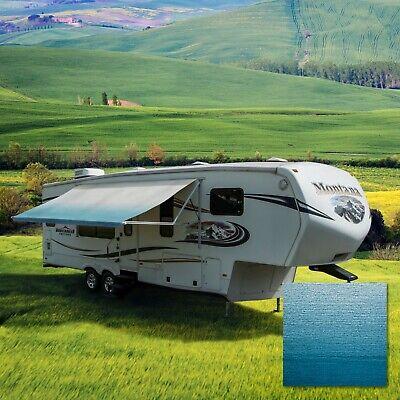 RV Awning Fabric 21 Feet Width Blue Pop Up Camper Canopy ...