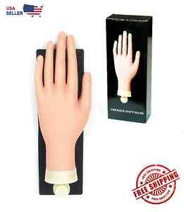 Image Is Loading Soft Practice Mannequin Hand With Flexible Finger And