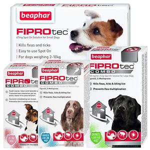 BEAPHAR-FIPROtec-SPOT-ON-CAT-DOG-FLEA-TICK-TREATMENT-Solution-S-M-L-XL-Fipronil