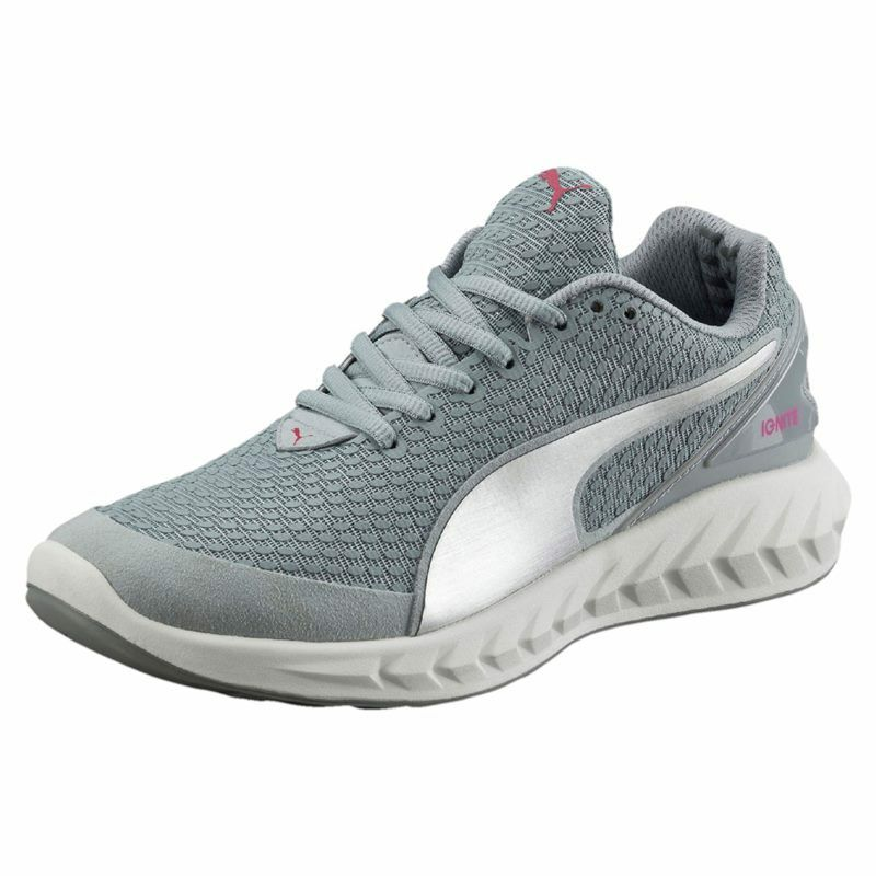 PUMA Ignite Ultimate 3D Wns Running Quarry Silver metallic Free Shipping.