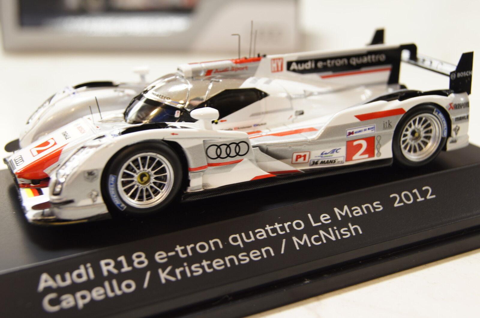 Audi r18 e-tron le mans 2012   2 1 43 funke   audi neu + ovp