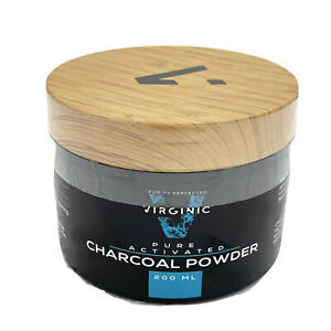 Charcoal Powder Pure Activated Teeth Whitener Powder Multi Purpose SEALED NEW