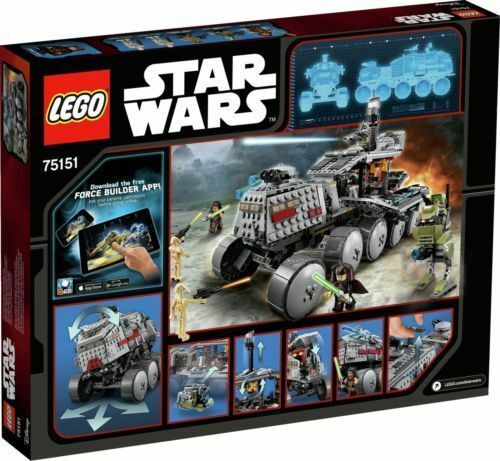 Lego 75151 Star Wars Clone Turbo Tank-Brand New retraité