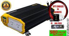 KRIËGER® 1500 Watt 12V Power Inverter MET UL CSA