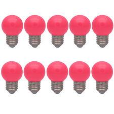 10er E27 Farbig Bunt Glühlampen Lampe Birne  Dekoration Leuchtmittel Rose