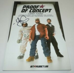 Proof of Concept Comic TPB SIGNED Larry Young 1st Print First AIT Planet Lar