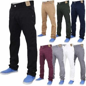 Jacksouth-Mens-Chino-Jeans-Regular-Fit-Cotton-Stretch-Trousers-Pants-Waist-32-40