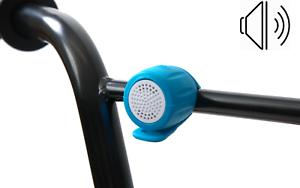 Enfants Garçons Filles Vélo électrique Bell Ring Loud Alarm Horn Silicone Bleu