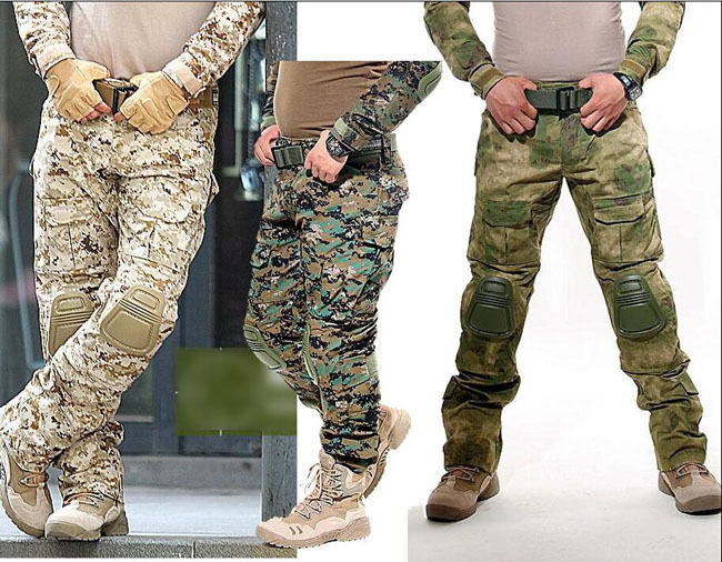 Hot Military Tactical Airsoft Shooting Hunting Paintball Combat Pants Knee  Pads  with cheap price to get top brand