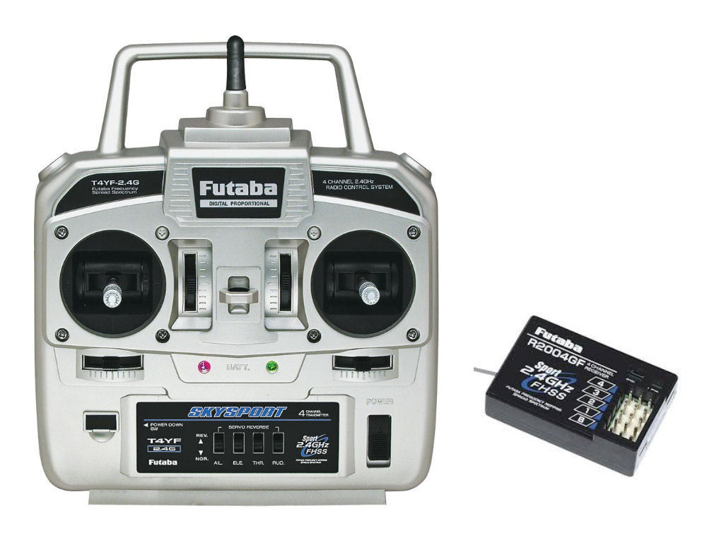 Futaba 4YF Radio Transmitter, Receiver for Angling Technics Bait Boat Microcat