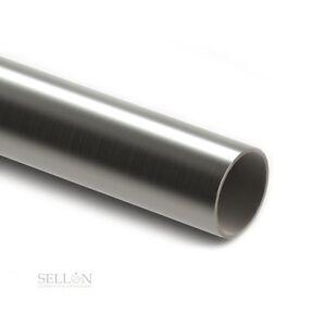 /Ø 12 x 1,5mm tubo tondo levigato L/änge 250mm V2A 1 K240 Tubo in acciaio inox acciaio inossidabile