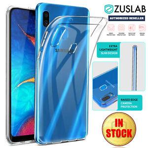 Galaxy-A20-A30-A50-A70-A90-5G-Case-ZUSLAB-Slim-Soft-Crystal-Clear-For-Samsung