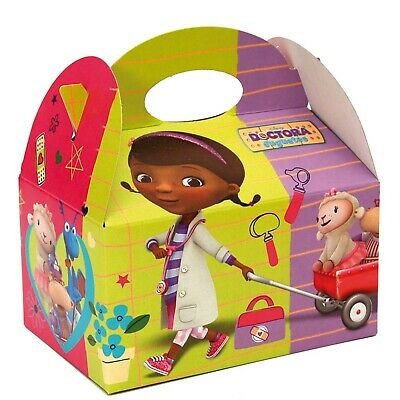 Doc Mc Stuffins Official Party Picnic Food Boxes Children Kids Birthday Box