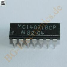 2 x MC14071BCP Quad 2-Input OR Gate Motorola DIP-14 2pcs