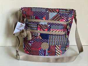 NEW-KIPLING-ZELENKA-PRINTED-DREAM-LIGHTWEIGHT-CROSSBODY-SLING-BUCKET-BAG-114