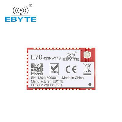 CC1310 433MHz SOC E70-433T14S2 14dBm UART  Wireless Transmitter Receiver Module