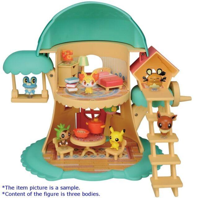 Pokemon Pita-Poke XY PitaPita Tree House Mini figure TAKARATOMY PitaPoke
