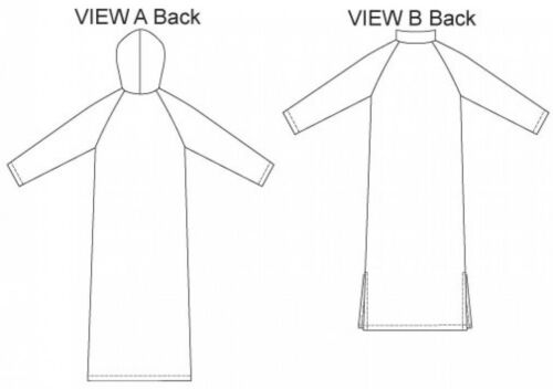 Kwik Sew Ladies Easy Sewing Pattern 3209 Robes Lounge /& Sleep Wear KwikS...