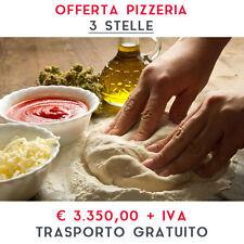 ATTREZZATURA APERTURA PIZZERIA – LINEA 3 STELLE Kit Completo - Trasporto Gratis