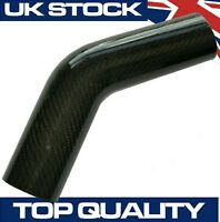 45 Degree Carbon Fibre Pipe, 63mm OD - Real Carbon Fiber Air Intake Induction