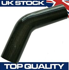 45 Degree Carbon Fibre Pipe, 76mm OD - Real Carbon Fiber Air Intake Induction